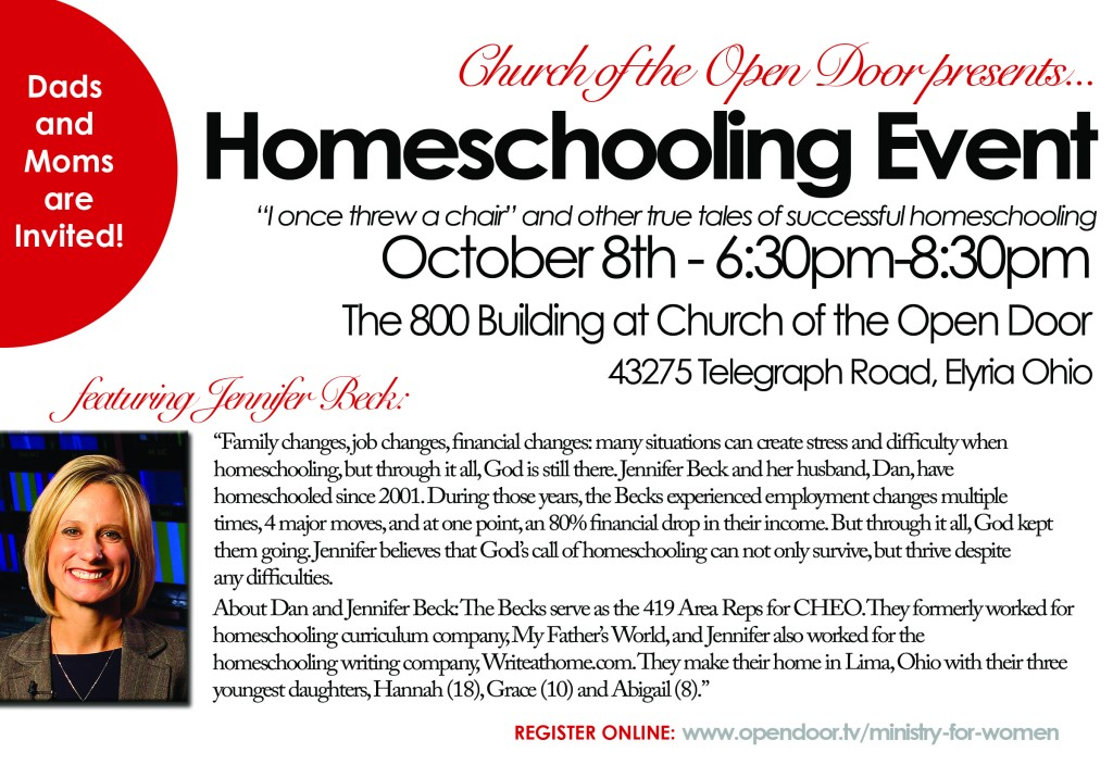 homeschool event