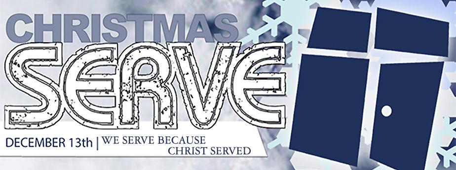CHRISTMAS SERVE